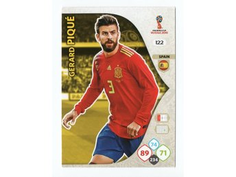 2018 Panini Adrenalyn XL FIFA World Cup Russia Gerard Pique