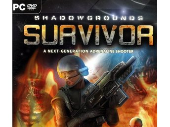 Shadowgrounds Survivor - fullskalig alienslakt /PCspel /NYTT