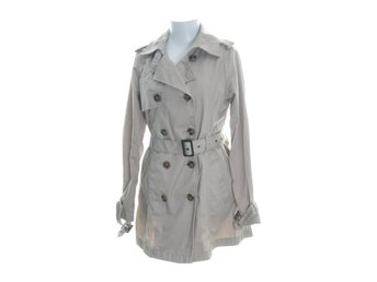 Cubus, Trenchcoat, Strl: 38, Beige, Polyester/Bomull