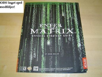 ENTER MATRIX PLAYSTATION 2 GUIDE -INGET SPEL- *NYTT*