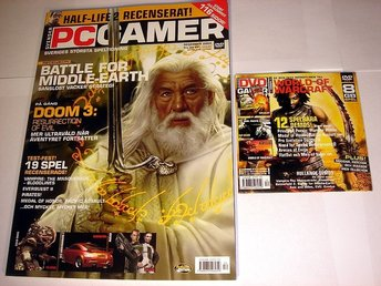 PC GAMER  Nr96 HELT NY m DVD  DEC 2004  DOOM 3  mm.