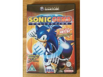 Sonic Gems Collection till Nintendo Game Cube *NGC* MED SONIC CD!