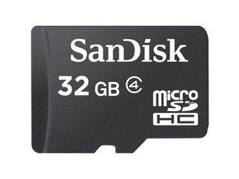 SanDisk MicroSDHC Class 4, 32GB - Kalmar - SanDisk MicroSDHC Class 4, 32GB - Kalmar
