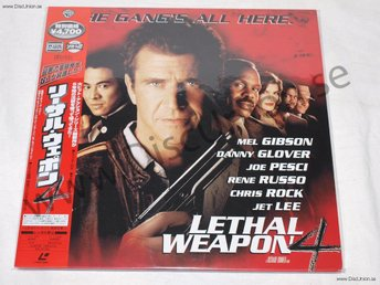 LETHAL WEAPON - 4 THE GANGS ALL HERE JAPAN LD