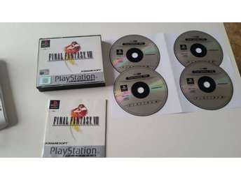 Final fantasy VII Komplett Playsation 1 PSONE!