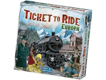 Ticket To Ride Europe (Skandinavisk version) - Brädspel