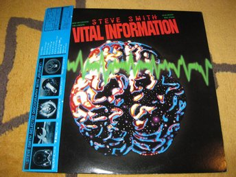 STEVE SMITH´S VITAL INFORMATION - RARE Jap edit 25AP 2687 with Obi!!