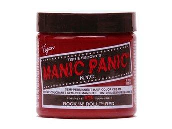 Manic Panic Rock'n Roll Red Tuff Hårfärg Snabb Leverans - Träslövsläge - Manic Panic Rock'n Roll Red Tuff Hårfärg Snabb Leverans - Träslövsläge