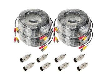 Kabel BNC Övervakningskamera 30m - S256-4 - Hong Kong - Kabel BNC Övervakningskamera 30m - S256-4 - Hong Kong