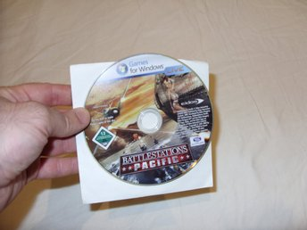 Battlestations Pacific Eidos PC DVD ROM spel 2009 action and war game