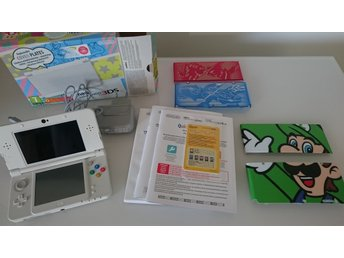 New Nintendo 3DS med laddare + cover plates
