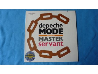 "MAXI-SINGLE 45 RPM - DEPECHE MODE - ""MASTER AND SERVANT"" - MARBLED VINYL - 1984"