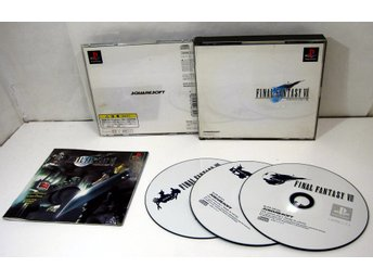Final Fantasy VII 7 till japanskt PS1 playstation