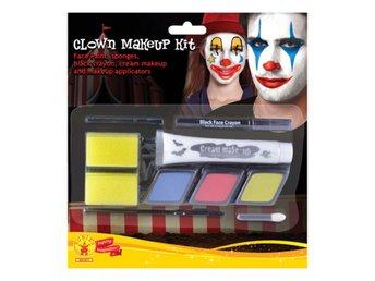 Clown Sminkset   Smink - Halloween (308270843) ᐈ Hobbyprylar på Tradera 4f6345e25afee