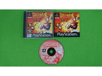Rayman Rush KOMPLETT Playstation PSone ps1