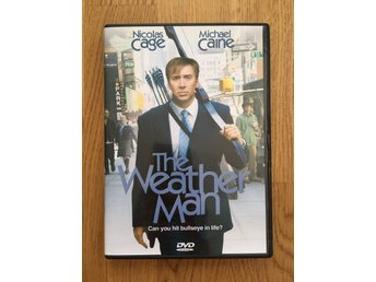 DVD Film — The Weather Man – Drama/Komedi – Fint skick!