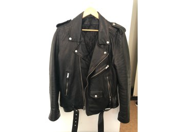 Blk dnm leather jacket no.5 Large