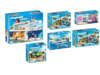 PLAYMOBIL Summer Family Fun-Cruise Trip Sets of 6, BRAND NEW