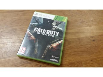 CALL OF DUTY BLACK OPS  XBOX 360 BEG