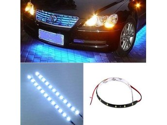 LEDs Car Auto Motorcycle Waterproof Strip Lamp Flexible Light