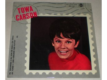 Towa Carson OMSLAG EP Edelweiss 1966