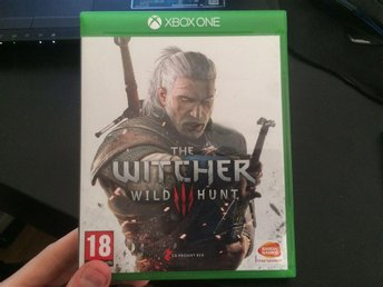 The Witcher 3: Wild Hunt (XBOX ONE, fint skick)