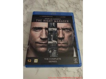 The Night Manager / Complete series (2Disc) - SVENSK Blu-ray Hugh Laurie.
