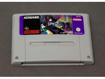 The Adventures of Batman & Robin SNES Super Nintendo