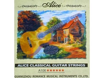 OUTLET- 2x kompl. set Alice strings till konsert gitarr