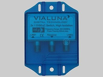 Vialuna DiseqC Switch 2/1