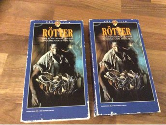 RÖTTER  Del 1 och 2 VHS originaltitel ROOTS