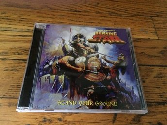 JACK STARR'S BURNING STARR Stand Your Ground CD 2017 Virgin Steele
