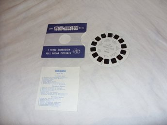 Barcelona Spain Vintage View Master slides Sawyers Inc USA
