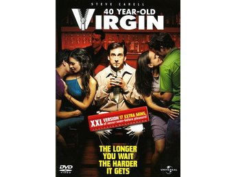 40 year old virgin 2005 DVD Steve Carell och Catherine Keener Komedi