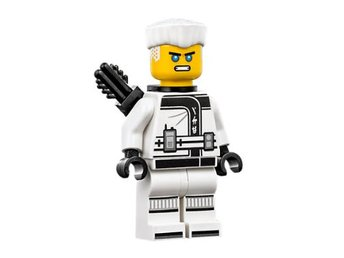 LEGO Figurer - Ninjago - Zane the movie black quiver 70617 Hair