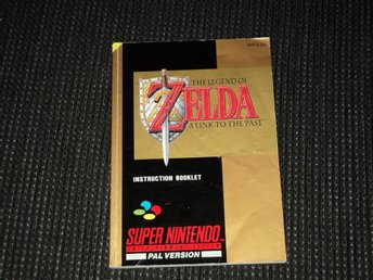 SNES Zelda A Link to The Past Manual SCN