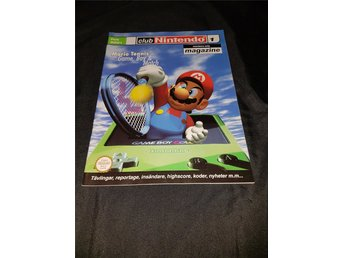 *Club Nintendo Magazine (Feb 2001) - Medlems tidning*NYSKICK*