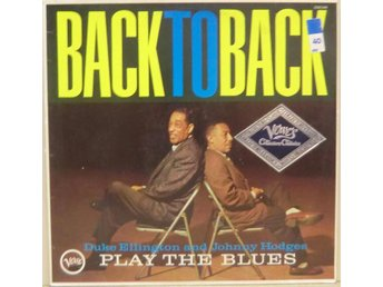 Duke Ellington & Johnny Hodges-Back To Back / 1st press LP