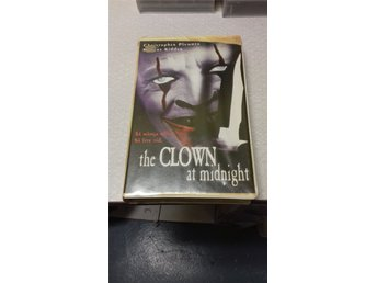 THE CLOWN AT MIDNIGHT. FD HYR VHS MED PUFFIGT FODRAL.