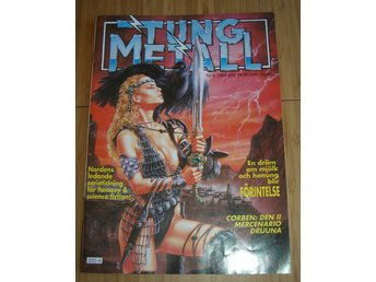 TUNG METALL NR 4 1989 Fint skick