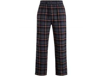 Björn Borg Pyjama Pants - Classic Check, Black (L) - Jönköping - Björn Borg Pyjama Pants - Classic Check, Black (L) - Jönköping