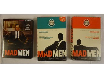 Mad men säsong 1, 2, 3