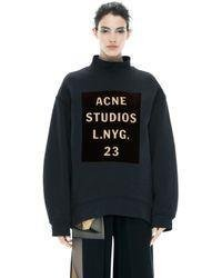 Acne Studios Beta fleece S Navy/gold - Göteborg - Acne Studios Beta fleece S Navy/gold - Göteborg