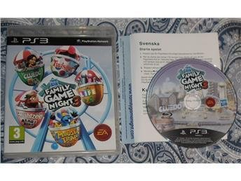1KR! PlayStation 3 PS3 Hasbro Family Game Night 3