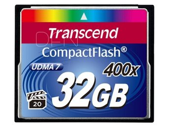 Transcend Compact Flash 32GB 400x