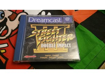 STREET FIGHTER 3 III - DOUBLE IMPACT Komplett Sega Dreamcast PAL