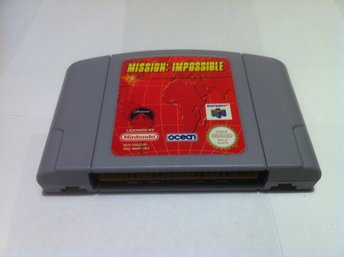 N64: Mission: Impossible (Enbart kassetten)