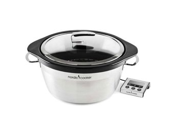 Nordic Cooker Slowcooker 5,0l LCD Kontroll