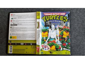 Turtles - TMNT - Teenage Mutant Ninja Turtles - Serien Film #5 av 7