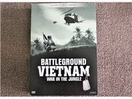 BATTLEGROUND VIETNAM  5-DISC - WAR IN THE JUNGLE - BOX - SVENSK TEXT